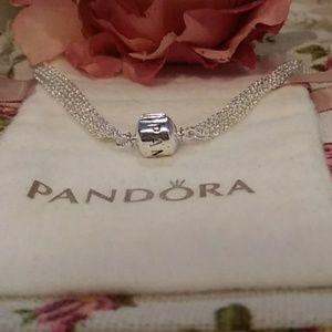 Pandora Multi Linked Bracelet